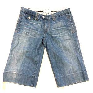 Paper Denim & Cloth Bermuda jean shorts size 29